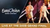 Regina - Bistra Voda (Bosnia &amp Herzegovina) LIVE 2009 Eurovision Song Contest