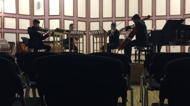 Samuel Barber String Quartet op.11 - 2nd movement (Adagio for Strings)
