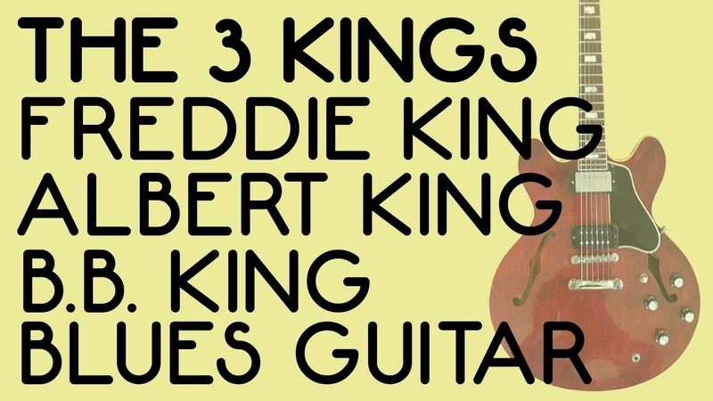 Blues Guitar Lesson I Albert King I B B King I Freddie King I Miles Schon I Tim Pierce