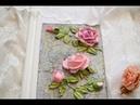 Как сформировать листок розы Скульптурная живопись