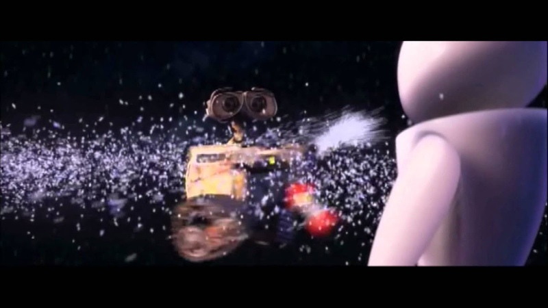 Wall E and his fire extinguisher