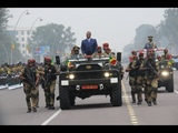 Sesse Nguesso of Congo Brazzaville Ridiculous Military &amp Police Security