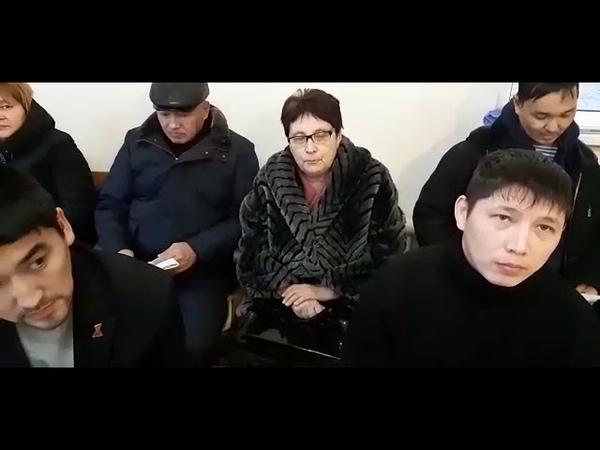 Объявление проведении митинга в пос. Володарский