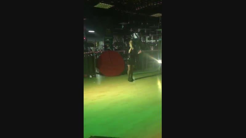 Виалика Не могу без тебя Выступление на корпоративе 2018 в фитнес центре Премьер класс.