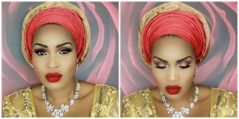 Step by Step: How to tie Nigerian Gele with Pleats