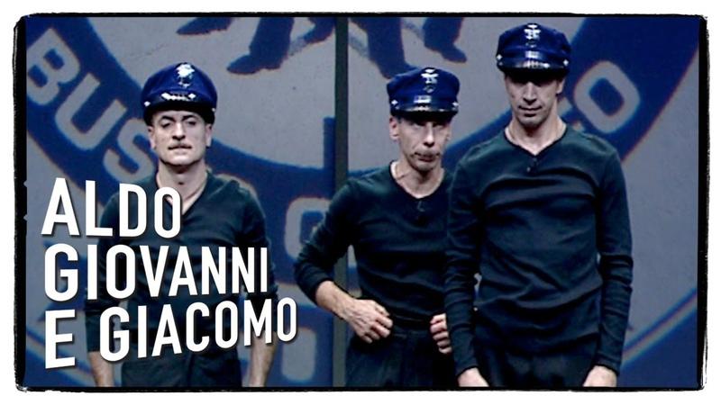 Scuola di Polizia con Dexter e Sugar - Aldo Giovanni e Giacomo