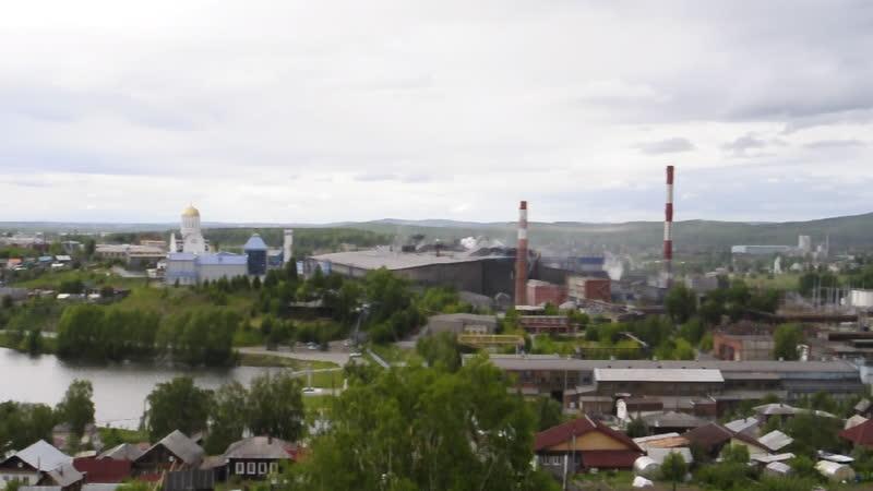 Вид с горы Сороковой (Лысой) г. Ревда