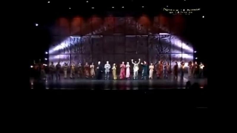 Notre Dame de Paris (тур по Азии) - фрагменты выступлений