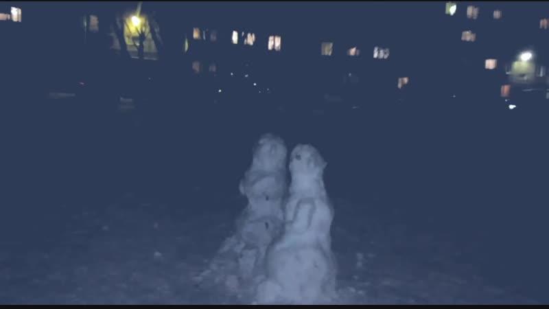 Как отпиздить снеговика