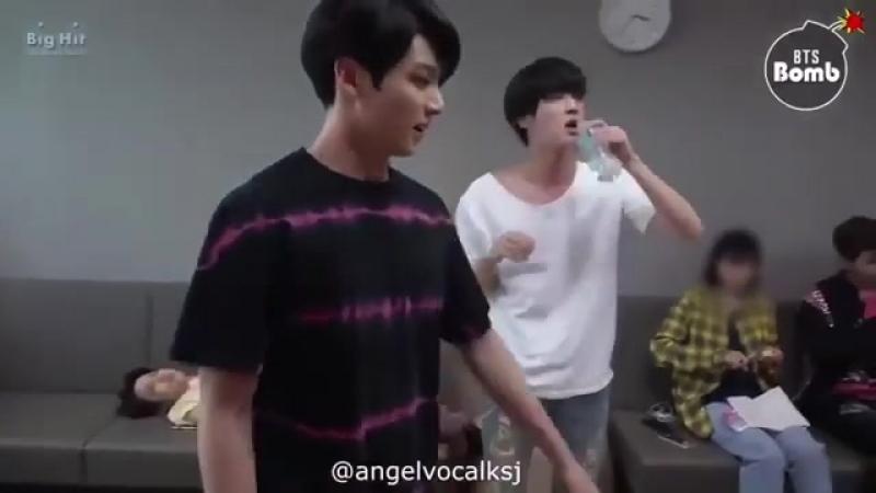 Jin_love💓💪🏻Зарядка с Гуки часть 2💪🏻💓