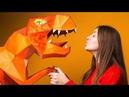 Фотосессия с динозавром. Обзор на Loftbox
