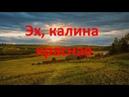 Эх, калина красная Созданиевидео МаргаритаЗемцова