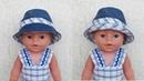 Одежда для кукол Беби Бон. Шапка - Шляпа. Clothes for Baby Bon dolls. Hat