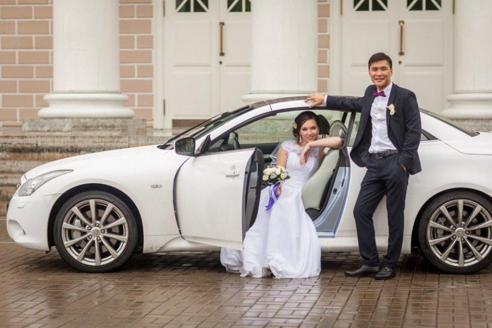 Аренда автомобилей на свадьбу в Санкт-Петербурге