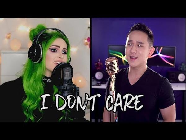 Ed Sheeran Justin Bieber - I Don't Care (Jason Chen x Sup I'm Bianca)