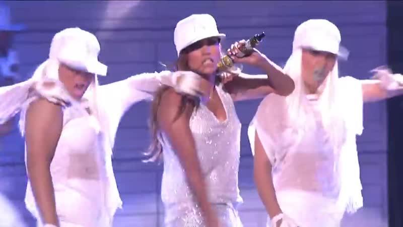 Jennifer Lopez - Goin In Follow The Leader feat Wisin y Yandel (Live American Idol)