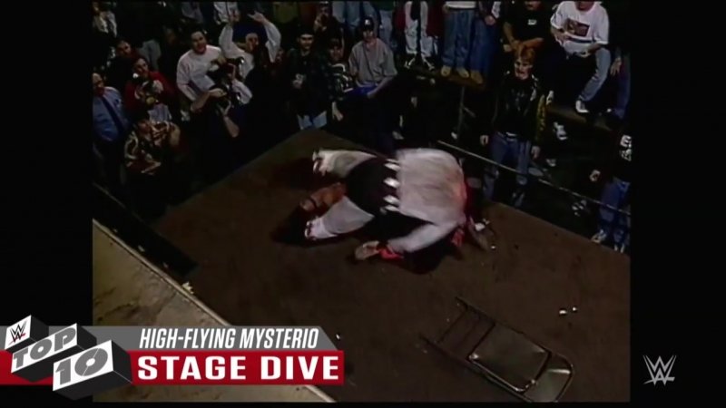 [WWE] Rey Mysterio's wildest high-flying moves: WWE Top 10, Oct 15, 2018