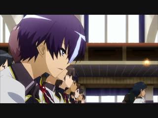 Песнь проклятия для святого рыцаря / Seiken Tsukai no World Break 1 серия [AniDub]