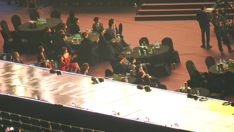 [iKON (아이콘) - 사랑을 했다 ] 트와이스(TWICE),워너원,세븐틴 Reaction@190115 서울 가요대상 [ 4k Fancam직캠