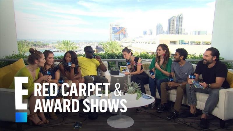 Wynonna Earp Cast Plays Truth or Dare at 2018 Comic-Con | E! Red Carpet Award Shows