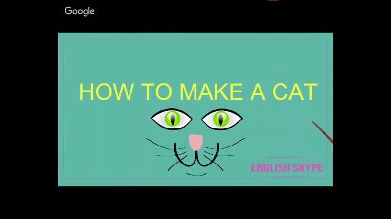 Making a cat