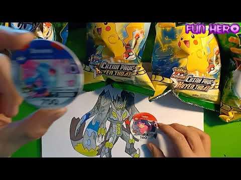 Bóc bim bim toonies pokémon trúng mánh được nhiều pokemon hiếm