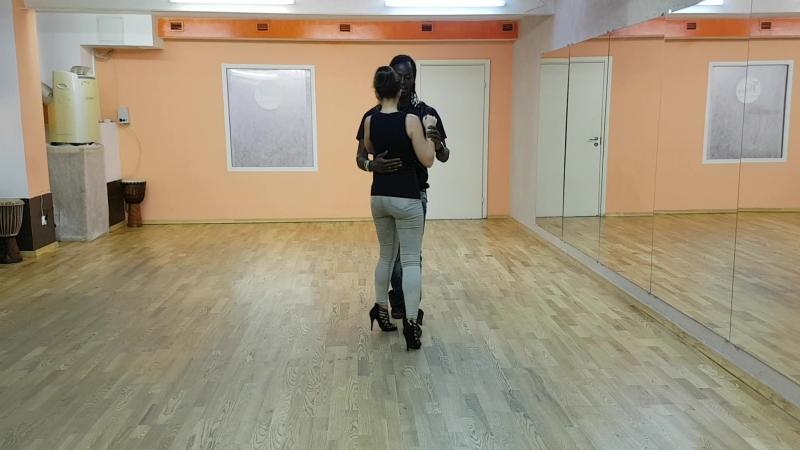 UrbanKiz 1-2 steps, Thierry Deha Irina Kovaleva