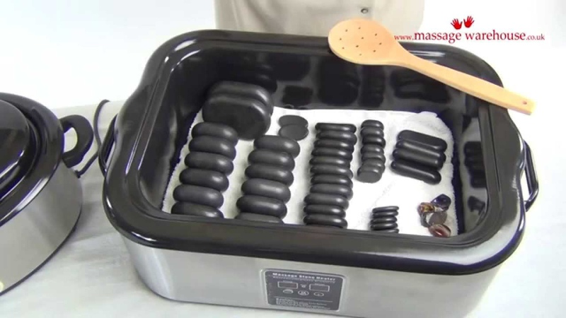 18 Quart Digital Hot Stone Heater REVIEW and DEMONSTRATION from Massage Warehouse UK