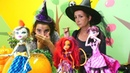 Monster High Frankie Cadılar Bayramında fazla balkabağı yiyor