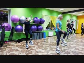 Kangoo Power в Sky Фитнес, инструктор Наталья Шумакова