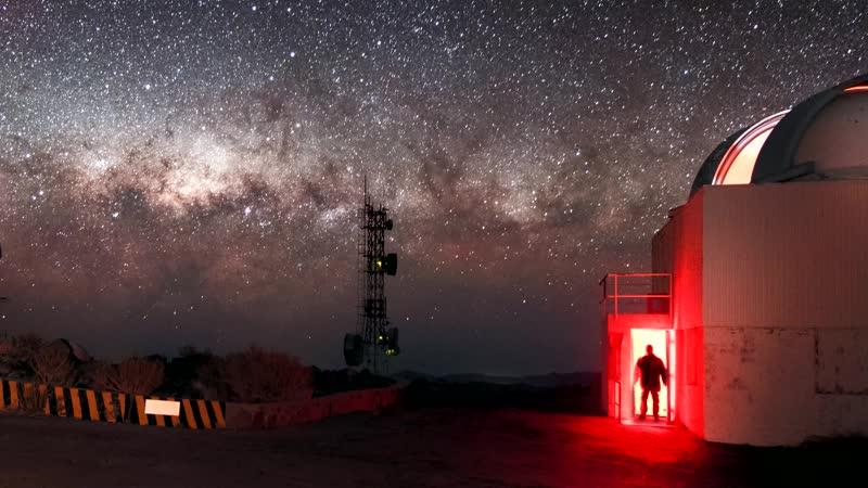 Светопись. Фото 165. Призрак в обсерватории Ла Силья