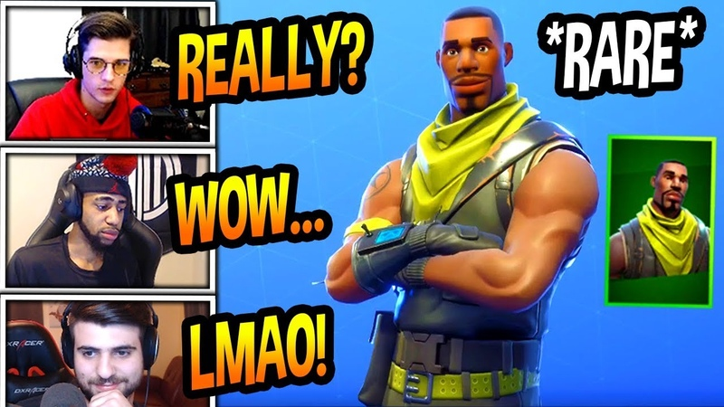 STREAMERS REACT TO *RARE* SCOUT SKIN COMING BACK! Fortnite FUNNY SAVAGE Moments