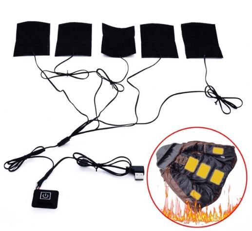 Набор для теплой куртки Данный набор позволяет установить гибкие панели обогреватели практически в любую куртку и держат