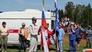 Торжественное поднятие флага на 3-ем этапе Чемпионата и Первенства РМЭ по автокроссу 2019 г. Йошка