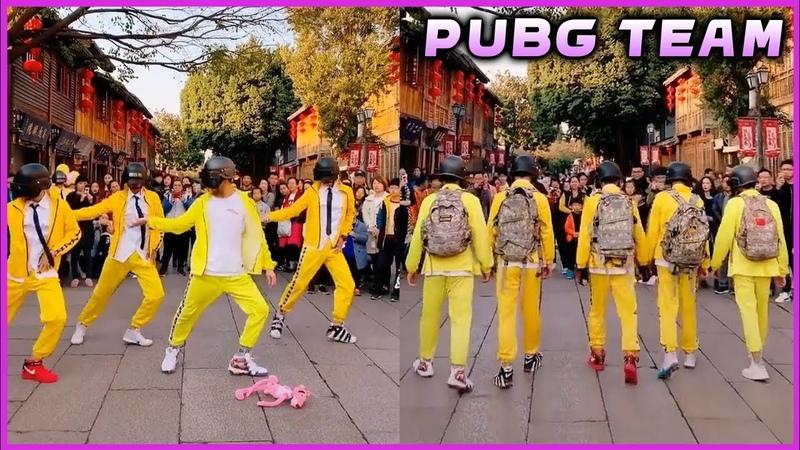 Iron Head PUBG Dance Team - Tik Tok Asian