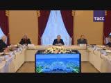 Владимир Путин на заседании Попечительского совета МГУ