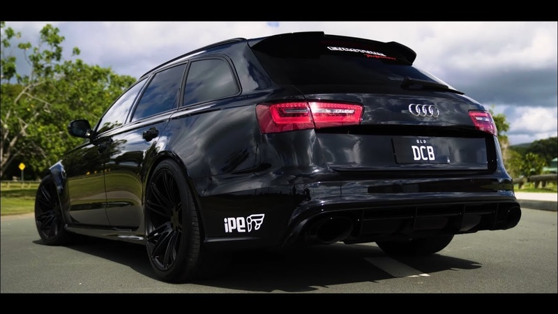APR Stage 2 Audi RS6 | IPE Exhaust | Carbon intake | Enjoy!