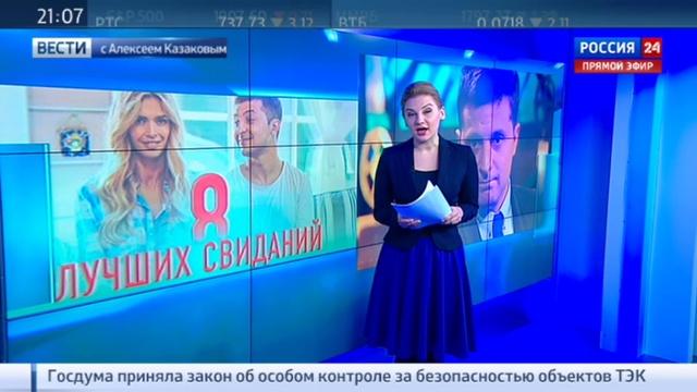 Новости на Россия 24 • От бойкота подальше: Зеленский решил не ехать в Москву на 8 лучших свиданий