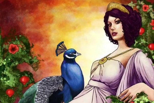 Гера Гера богиня греческого Олимпа, воплощающая собой женщину, достойную громовержца Зевса. В римской мифологии ее двойником выступала Юнона. Хранительница домашнего очага, покровительница семьи