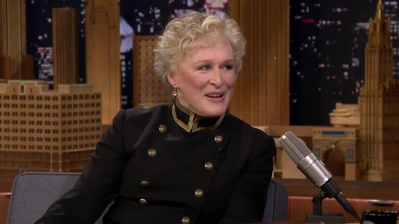 Glenn Close Set Up a Tea (and Tequila) Table for Her Off-Broadway Co-Stars (Nov. 25, 2018)
