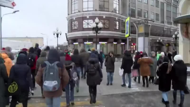Шествие в Москве: «Антифашизм - это поступок» / LIVE 19.01.19
