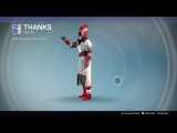 Destiny_20180128 RED-WHITE WARLOCK . ZNAK THANKS .