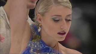 Piper GILLES & Paul POIRIER CAN Free Dance Starry Night 2019 4CC