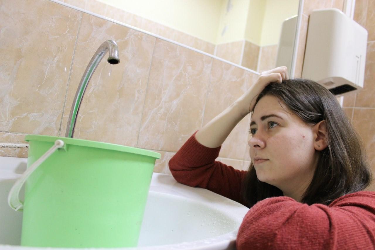 в Новом году Торецк остался снова без воды