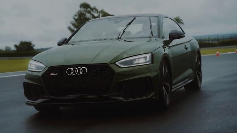 Власть над скоростью обостряет чувства. Audi RS 5 Coupé.