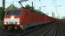 BR189 C AKv Kupplung Erzzug Rhein Mosel Köln Trier Führerstandsmitfahrt Train Simulator 2017