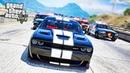 Легендарный Dodge Challenger Hellcat против Crown Victoria в GTA 5! Полицейские Догонялки в ГТА 5