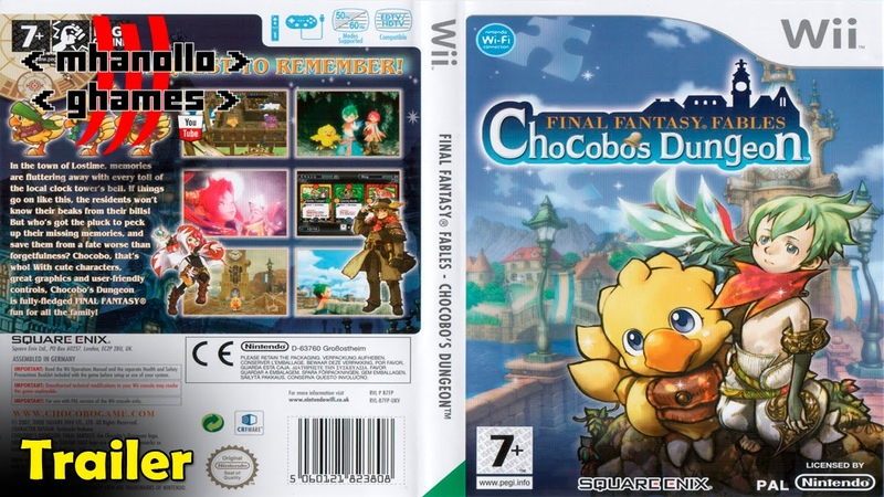 Wii trailer: Final Fantasy Fables: Chocobo's Dungeon.