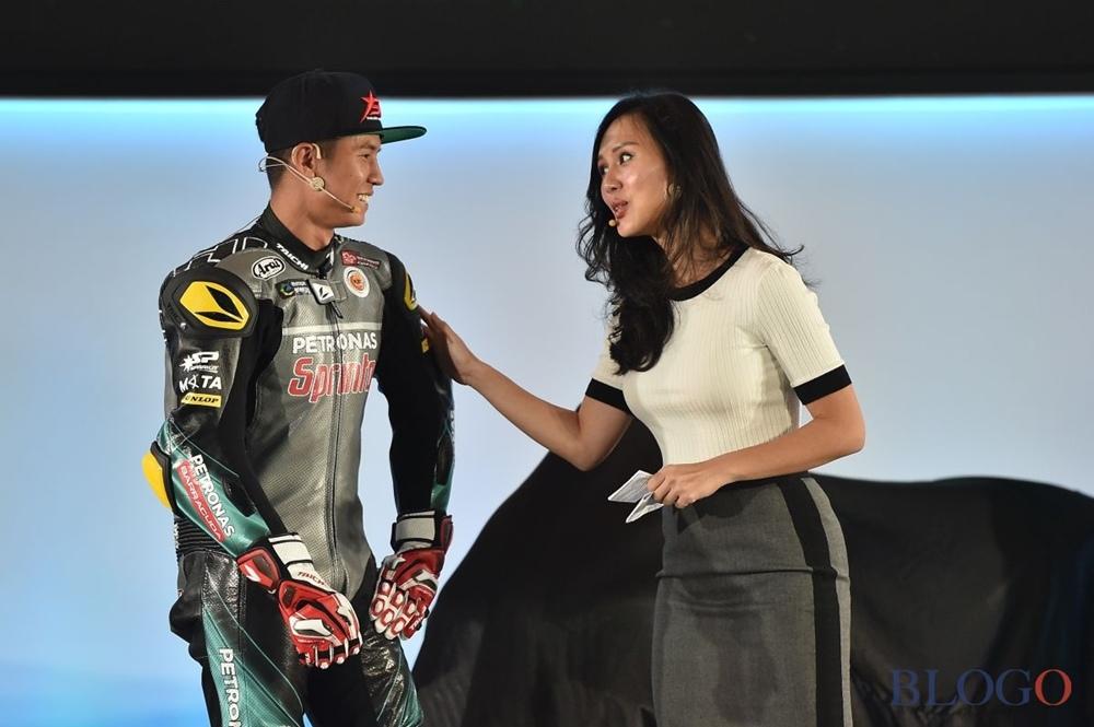 Презентация команды Petronas Yamaha Sepang 2019