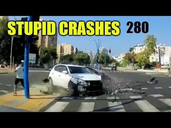 Stupid driving mistakes 280 (November 2018 English subtitles)